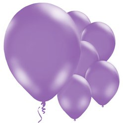 "Purple Balloons - 11"" Latex"