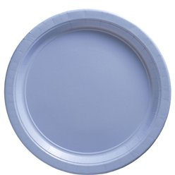 Baby Blue Plates - 23cm Paper Party Plates