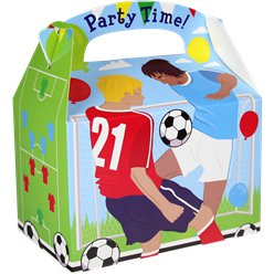 Football Party Box - 15cm long