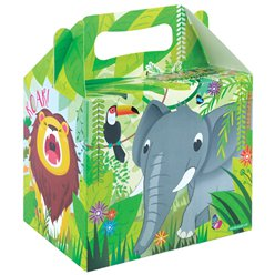 Jungle Party Box - 14cm long
