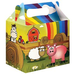 Farm Party Box - 14cm long