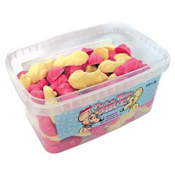 Pink & White Mice Tub