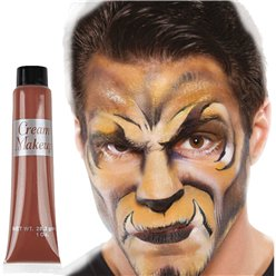 Brown Cream Make Up Tube - 28ml - Face Paint