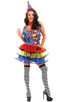 Cutie Clown - Adult Costume
