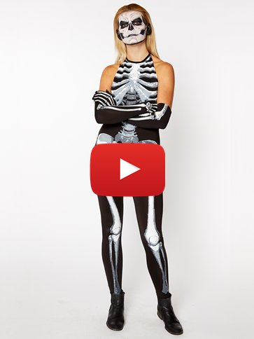 Bone-A-Fied Babe - Adult Costume video