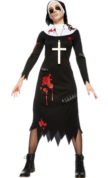 Zombie Nun - Adult Costume