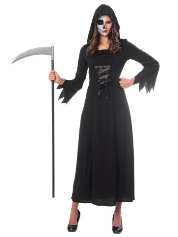 Grim Reaper Lady - Adult Costume front