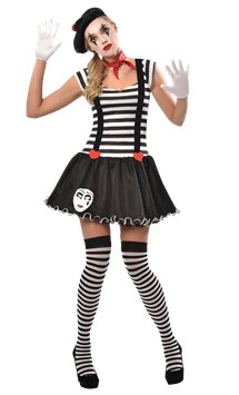 Miss Mime - Adult Costume
