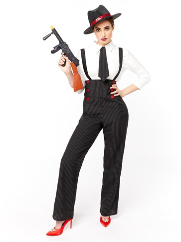 Gangster Lady - Adult Costume front