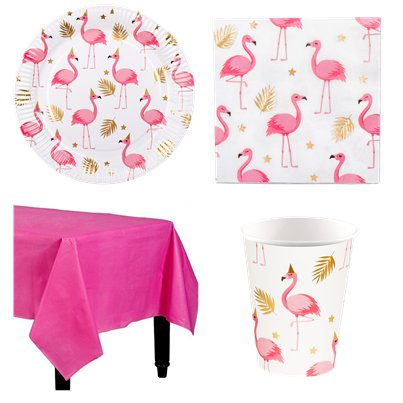 FLAMINGO PARTY PINK DELUXE  Party Pack