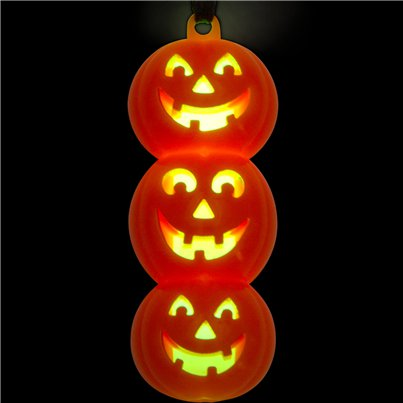 Glow Pumpkin Necklace - 6.5cm
