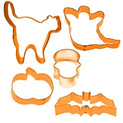 Halloween Plastic Cookie Cutters - 10cm