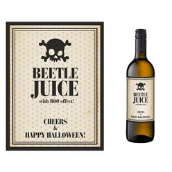 Beetle Juice Bottle Labels