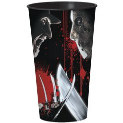 Freddy VS. Jason Plastic Cup - 909ml