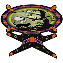 Halloween Cake Stand - 1 Tier