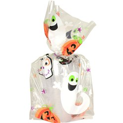 Large Halloween Cello Bags - 29cm