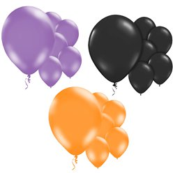 Halloween Balloon Mix Kit