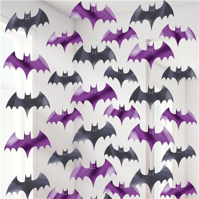 Bat String Decoration - 2m