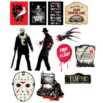 Classic Horror Mixed Cutouts