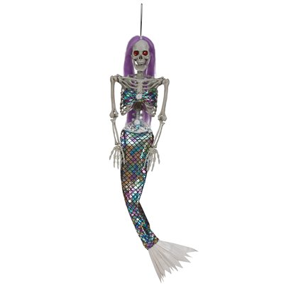 Animated Jewelled Hanging Mermaid