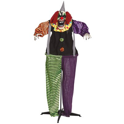 Freestanding Animated Clown