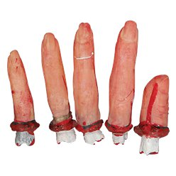 Severed Bloody Fingers
