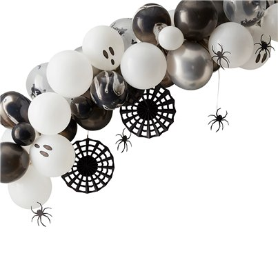 Ghost & Spider Balloon Garland Kit