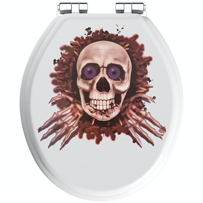 Skull Toilet Decoration