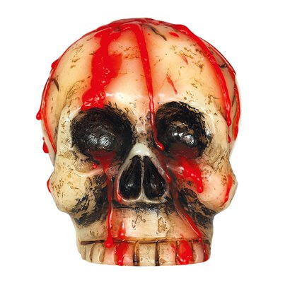 Blood Skull Candle - 10cm