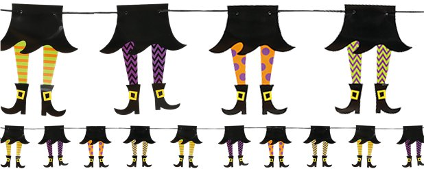 Witch Leg Garland - 2.1m