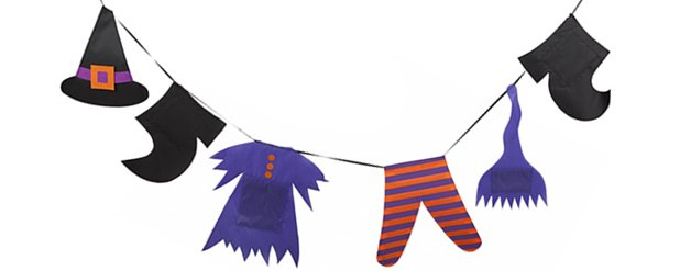 Witches Washing Line Garland - 2.4m