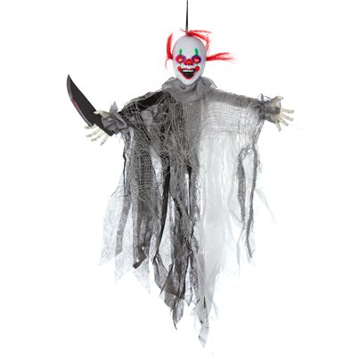 Animated Slashing Clown - 60cm