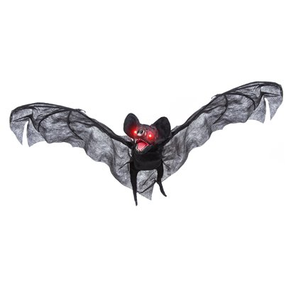 Animated Bat with Sound - 89cm