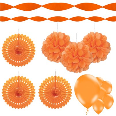Halloween Orange Dec Mix Kit