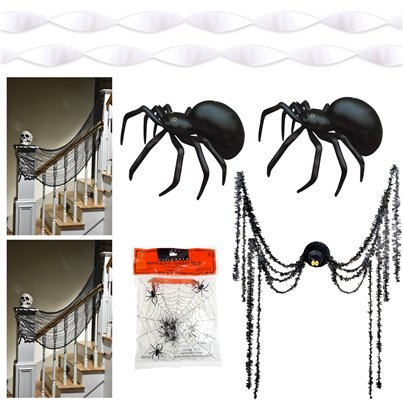 Spider Doorstep Decorating Kit
