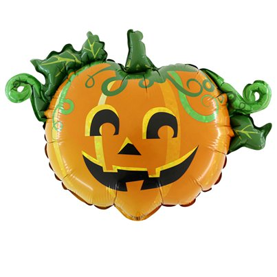 "Linky Scary Pumpkin Balloons - 17"" Foil"