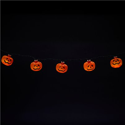 10 Pumpkin Lights - 1.2m