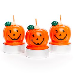 Pumpkin Tea Light Candles