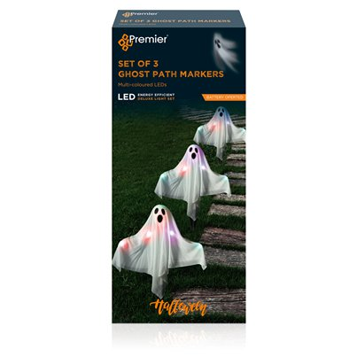 Light Up Ghost Path Markers - 50cm