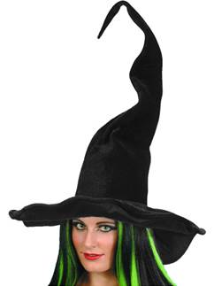 Witches Tall & Twisty Hat