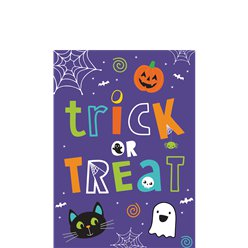 Hallo-Ween Friends Party Invitations - Small
