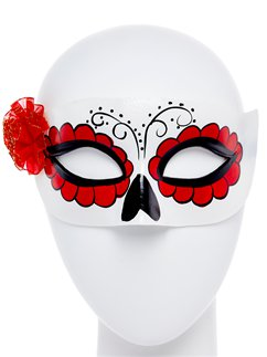 Day of the Dead Masquerade Mask