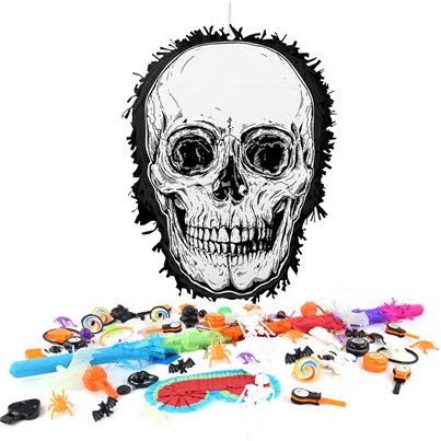 Skull Pinata Kit (without Sweets)