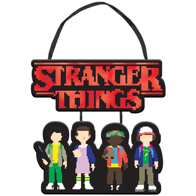 Stranger Things Mini Hanging Sign - 17cm