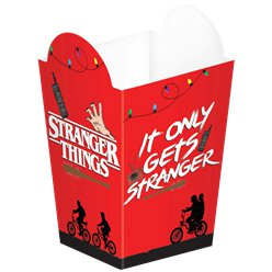 Stranger Things Popcorn Containers - 14cm