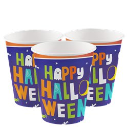 Hallo-ween Friends Cups - 250ml