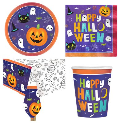 Halloween Friends Value Party Pack