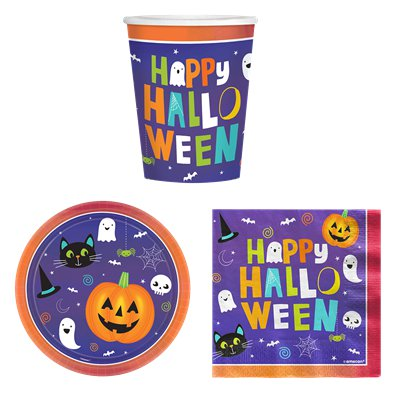 Halloween Friends Basic Party Pack