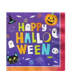 Hallo-ween Friends Napkins - 33cm
